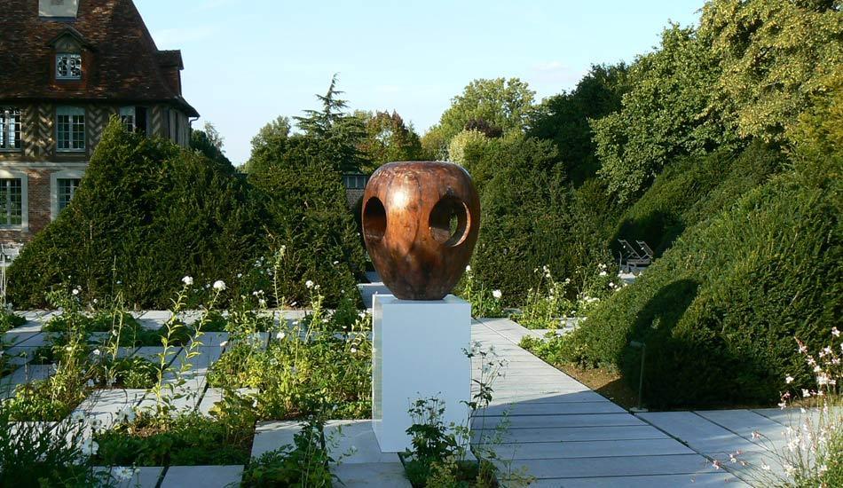 Guillaume de Saint Phalle, exposition de groupe au jardin du Hauvel Octobre 2010 (Normandie)