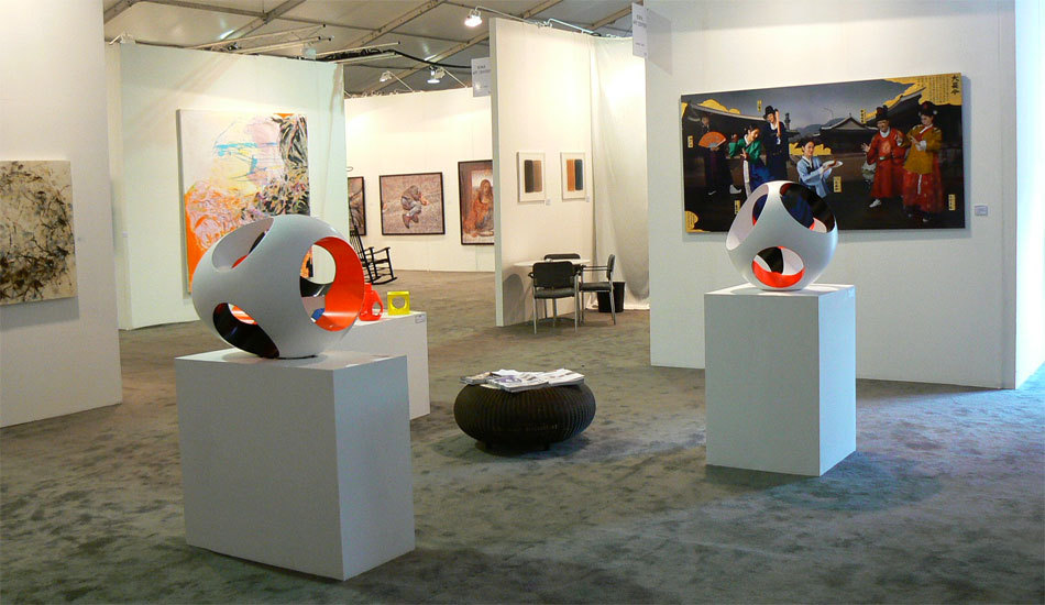Guillaume de Saint Phalle à la Foire d'Art International de Miami (Dec 2007)