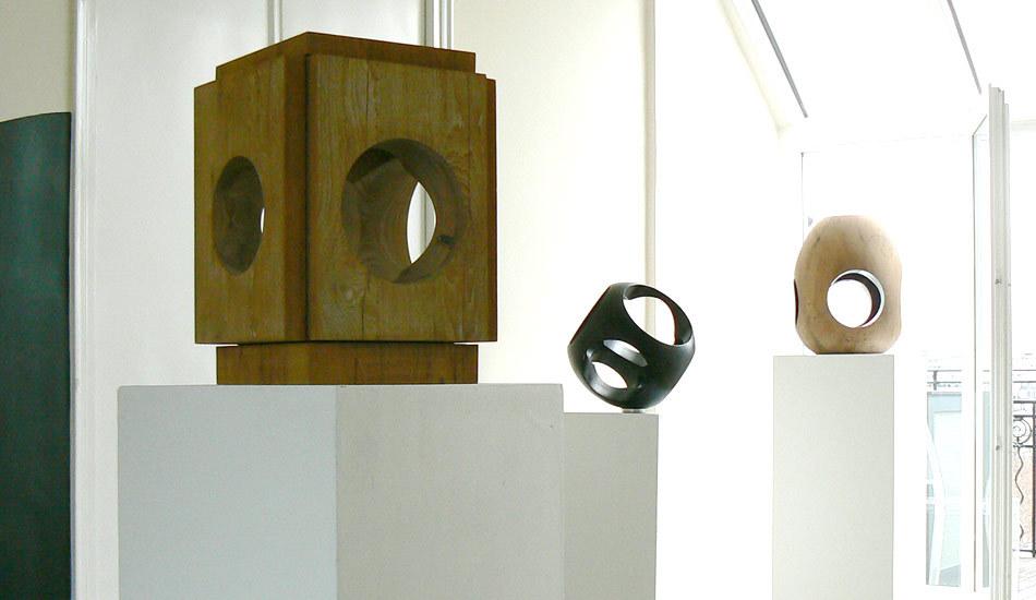 Exposition privée du sculpteur Yom de Saint Phalle, Paris 7ème (Mai 2010)